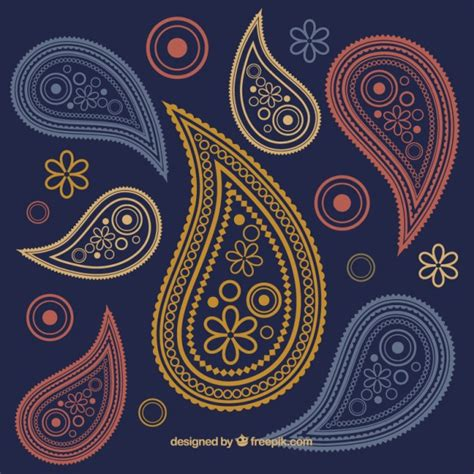 ornament background paisley ornaments background vector free