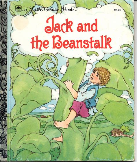 the beanstalk picture book a golden book and the beanstalk 1 children