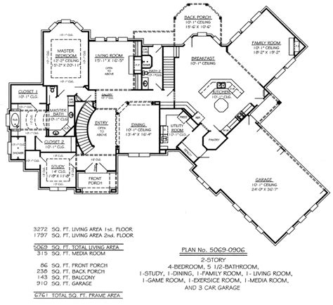 2 story floor plans with garage 2 story house plans 3 car garage home deco plans