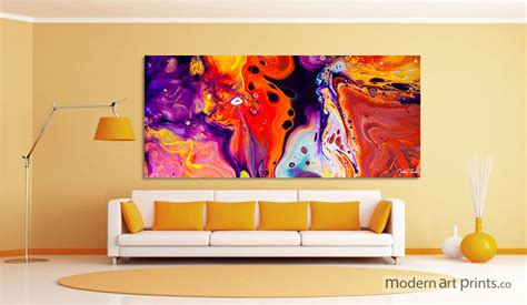 prints for room colorful wall living room wall abstract colorful