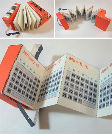 paper craft calendars time for a change 12 cool creative calendar designs
