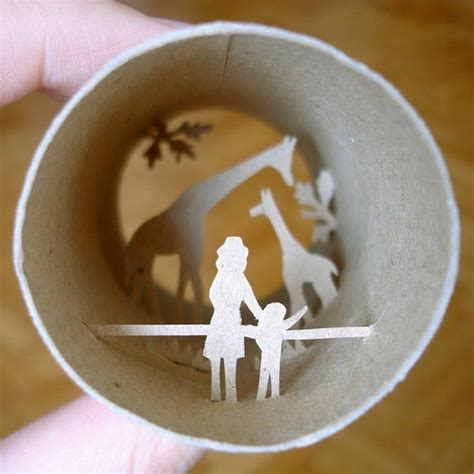 crafts using toilet paper rolls toilet roll paper crafts gadgetsin