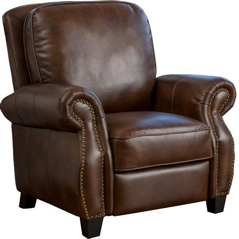 Leather Chair Recliner by Three Posts Tully Faux Leather Recliner Reviews Wayfair