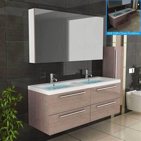Badezimmermöbel Unter Lavabo by Waschbecken Badm 246 Bel Doppelwaschbecken Unterschrank