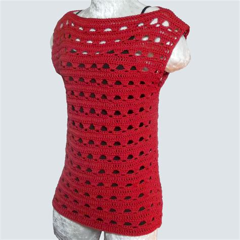 top crafts for simple lace summer top crochetn crafts