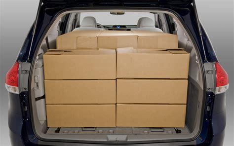 Minivan Cargo Space by Toyota Cargo Space