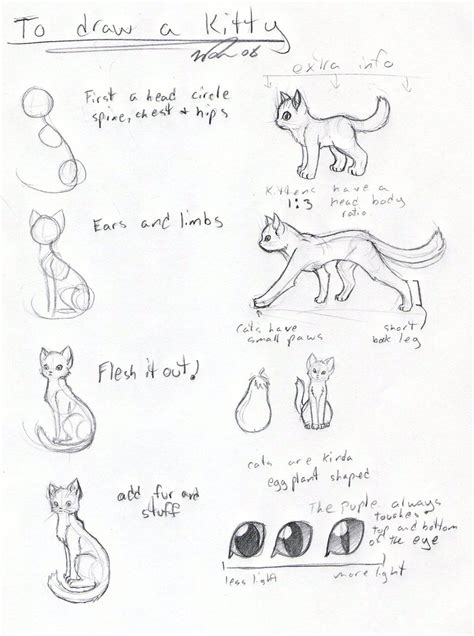 cat tutorial cat tutorial by frostdragonvacu on deviantart