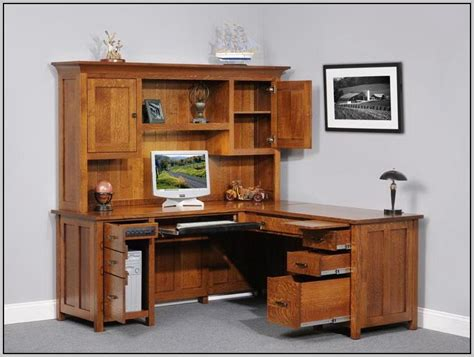 corner office desk with hutch corner office desk with hutch home remodeling and