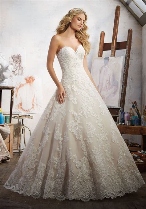 wedding gown with magdalena wedding dress style 8108 morilee