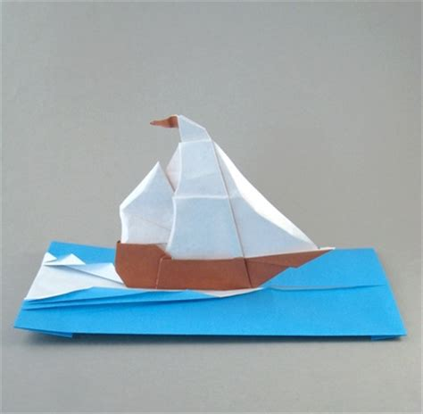 origami speed boat sail boat origami food ideas