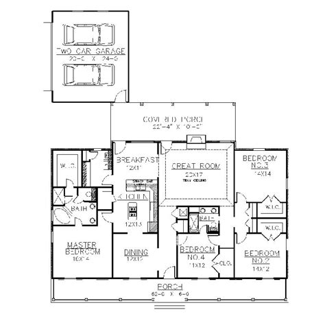 plantation house floor plans plantation house plans one story design layout photo homescorner