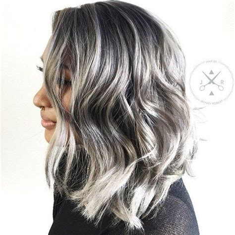 pictures of grey hairstyles with pink highlights 17 best ideas about silver highlights on pinterest gray