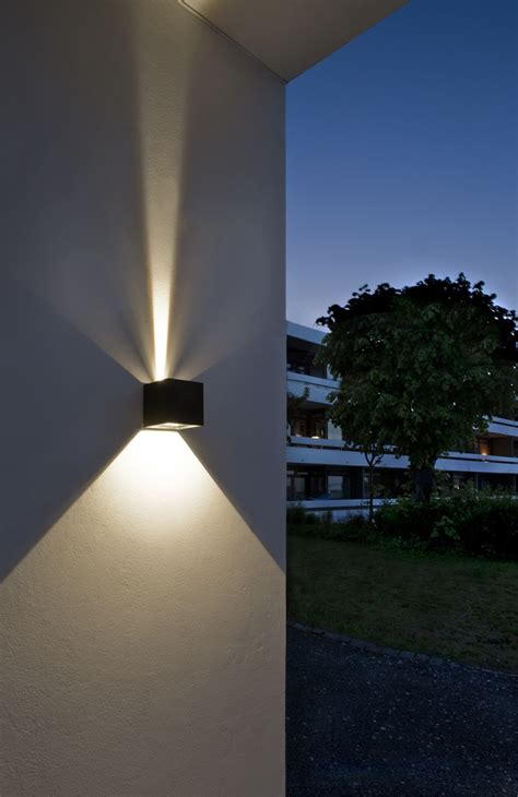 outdoor led lighting led outdoor wall lights enhance the architectural