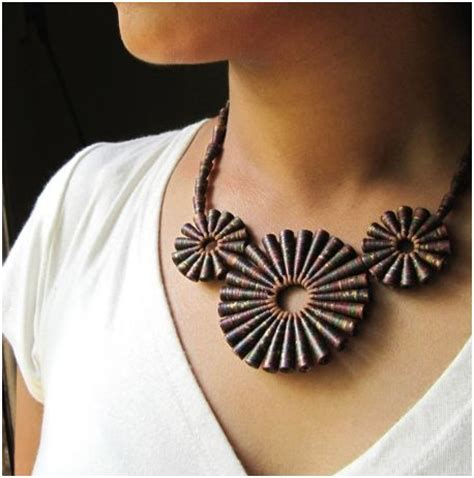 paper jewelry recycled paper jewelry by hippie kingdom the beading gem
