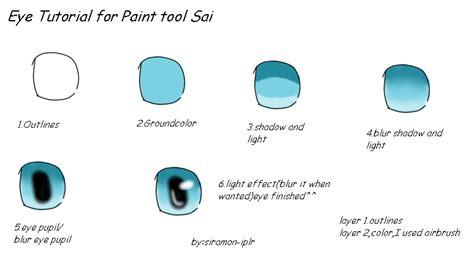 paint tool sai luminosity tutorial paint tool sai eye tutorial by zecendia on deviantart