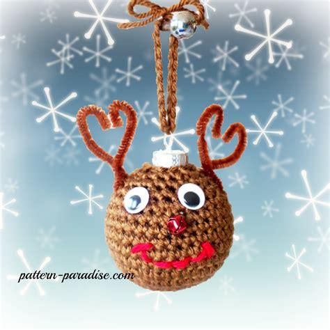 crochet tree ornament free crochet pattern tree ornaments pattern