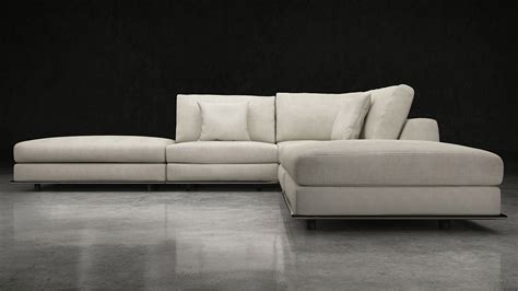 modern armless sofa armless sectional sofas a sectional sofa collection with