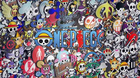 www onepiece one logo wallpaper wallpapersafari