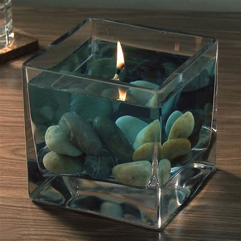 water and floating candles h2o water candle kit the green