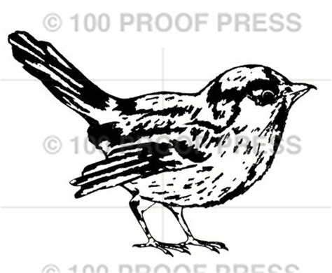 100 proof press rubber sts 6592 large birdie