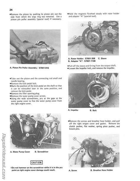 Kawasaki Engines Manuals by Kawasaki Mower Engine Service Manual Kawasaki Free