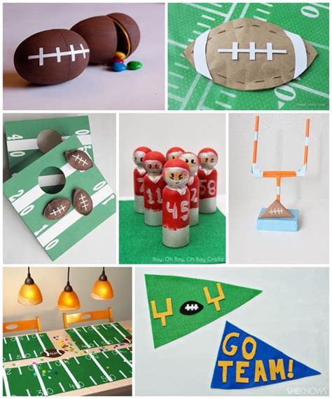 football craft projects 17 best ideas about football crafts on