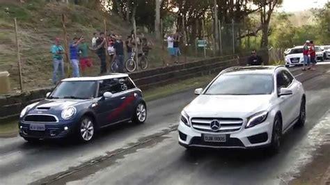 Mercedes Mini by Mini Cooper S X Mercedes Gla 250 1 8 Mile