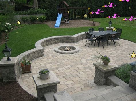 brick patio designs with pit field pits and patios pits pits