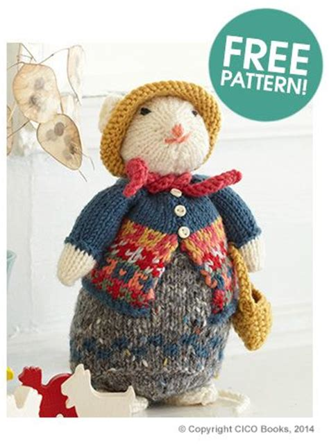 mouse knitting pattern cat and mouse knit patterns 187 wee folk