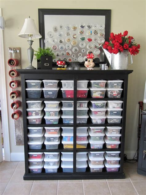 craft storage for all the tuesday ten craft organization ideas