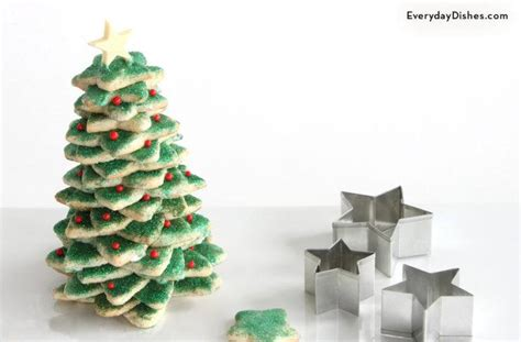 tree with cookies stacked sugar cookies tree