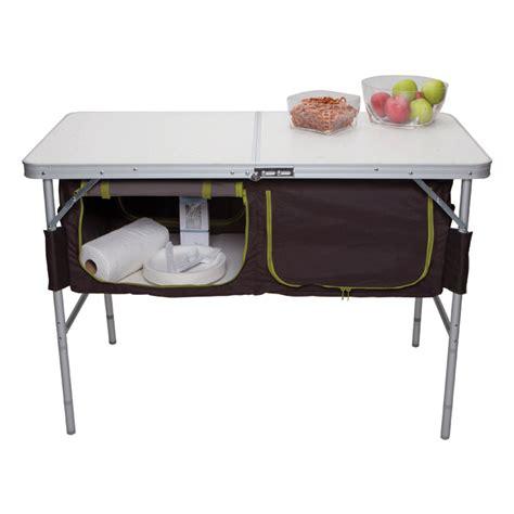 tables with storage folding c table with storage bins westfield ta 519