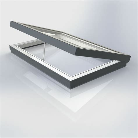 flat glass flat glass vented manual rooflight company