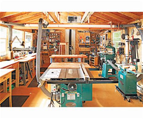 popular woodworking shop two car garage woodshop this 2 car garage was designed
