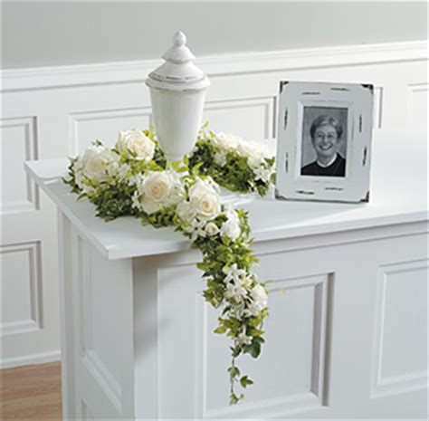 decoration services 14 funeral urn memorial service table arrangement ideas