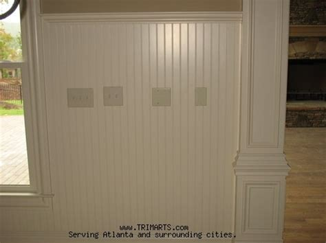 beaded wainscoting professional carpentry trim and cabinets in atlanta