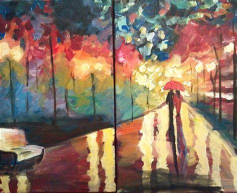 couples paint nite island canvas paint sip studio kirkland and seattle wa