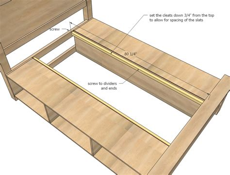 make bed frame how to make your own bed frame with storage home design