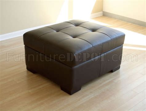 convertible ottoman bed brown color leather ottoman with convertible bed