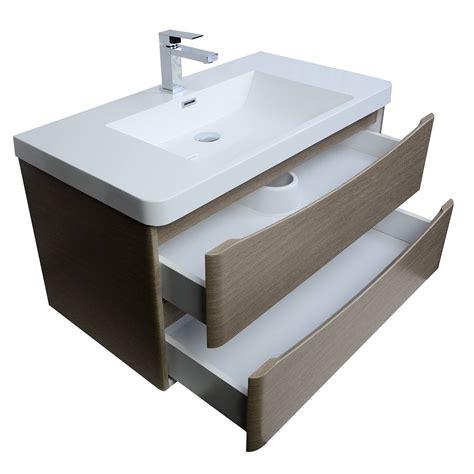 bathroom vanities tn merida 35 5 inch wall mount bathroom vanity in light pine