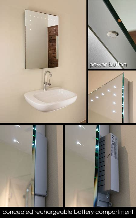 battery powered bathroom lights bathroom mirrors with lights battery powered fantastic