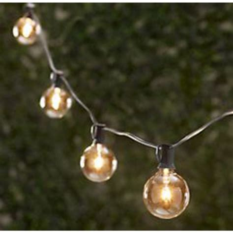 decorative patio string lights led outdoor string lighting ls ideas