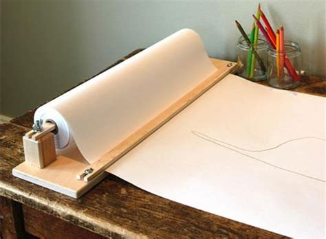 large roll of craft paper table top paper holder with cutter accessories better