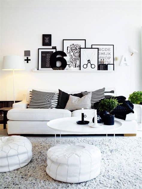 Wooninspiratie Woonkamer Wit by Voorbeelden Zwart Witte Inrichtingen Wooninspiratie
