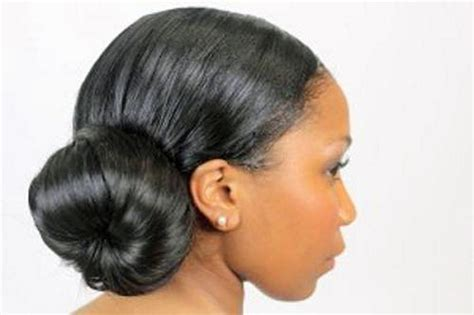 black hair buns african american bun updo 2013 inofashionstyle com