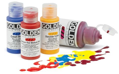 blick acrylic paint golden fluid acrylics blick materials