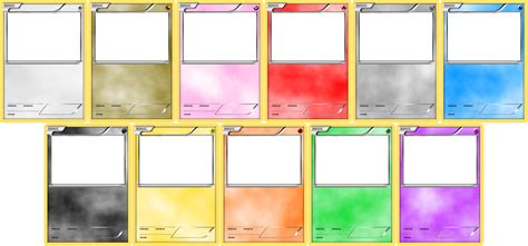 make your own trading cards template blank card templates by levelinfinitum on deviantart