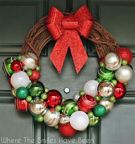 Home Made Halloween Decorations diy christmas ornament wreath