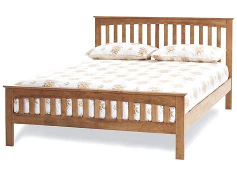 size mattress bed frame amelia honey oak finish bed frame custom size beds