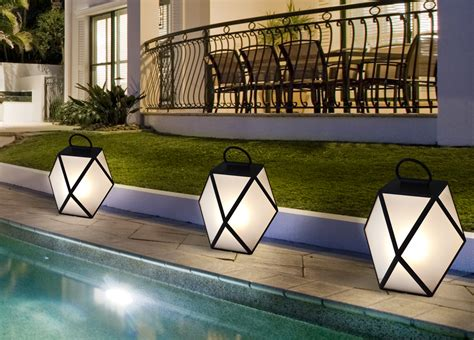 outdoor battery light contardi muse battery powered outdoor l garden